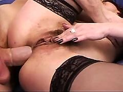 Brunette mom having all sex