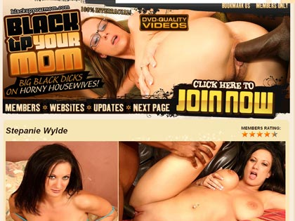 Black Up Your Moms - Big Black Dick On Horny HouseWives!