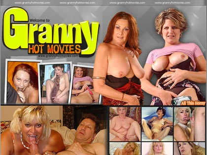 Granny Hot Movies - All This Horny Granny Wants Is A Nice Hard Cock Up Her Pussy